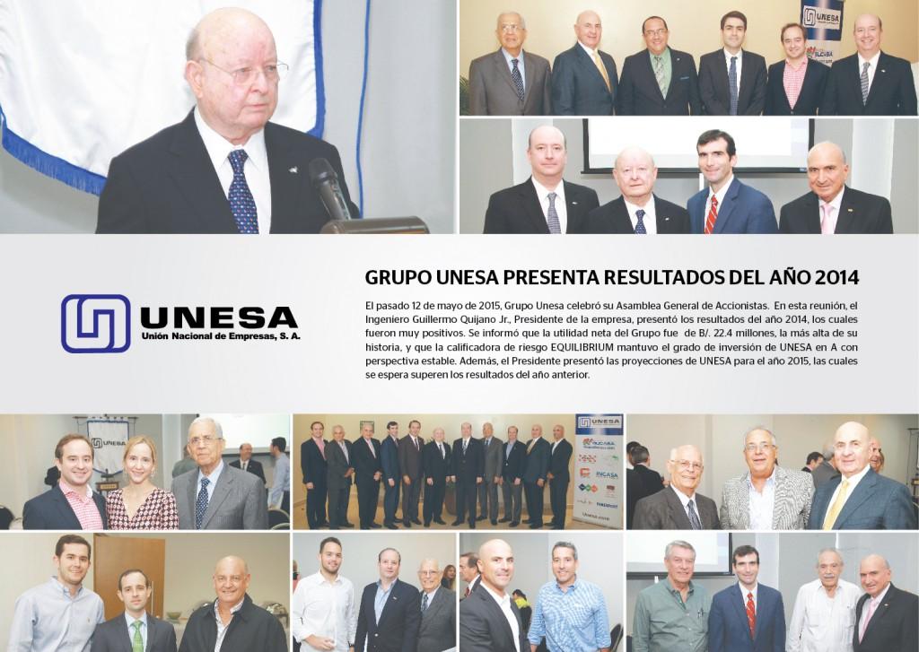 Gacetilla Asamblea grupo UNESA_Panama America 6colx7